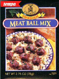 All Seasoning  Tempo Old Country Swedish Meat Ball Mix